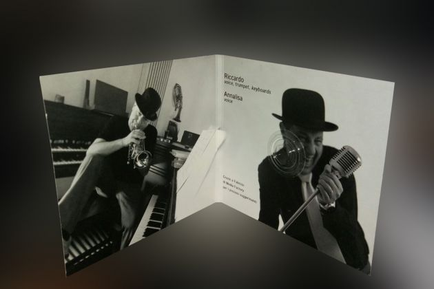 Digipack - Riccardo - Christmas in jazz
